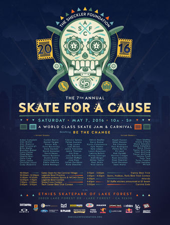 7th Annual SKATE FOR A CAUSE