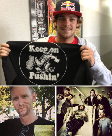 """Keep on Pushin"" T-Shirt sales to benefit Ricki Bedenbaugh"